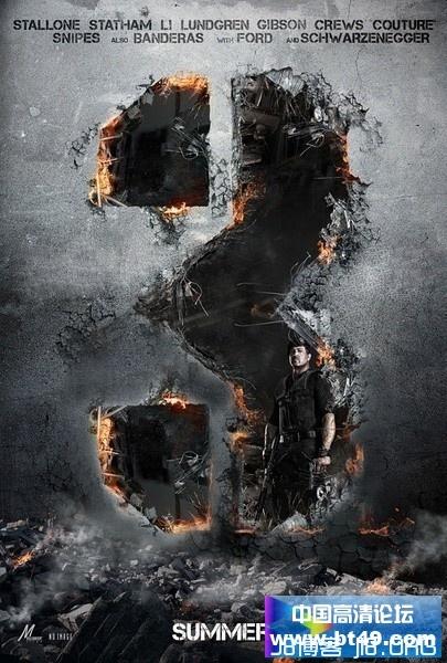 2014敢死队3/浴血任务3/轰天猛将3.The.Expendables.3/欧美史泰龙/杰森·斯坦森/李连杰动作/高清下载